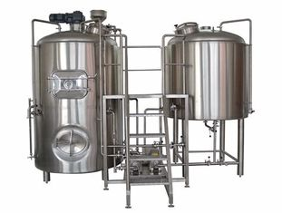 German Brewing Machine 5BBL 2 Vessel Brewhouse