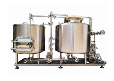 200L Customized Power Beer Brewing Equipment / Production Line High Efficiency