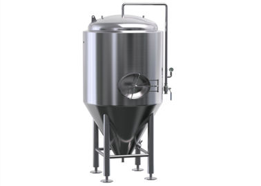 300 Gallon Stainless Steel Fermenter Wine Jacket Storage For Brewing Equipment