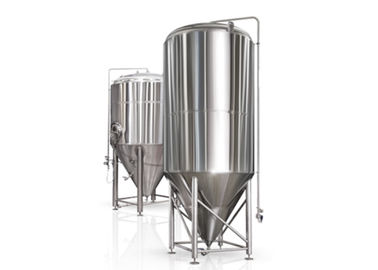 Beer Insulated Dimple Jacket Stainless Conical Fermenter Fermentation Container